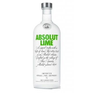 Absolut Vodka Lime 40% 1 L