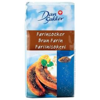 Dan Sukker Brun Farin 500 g