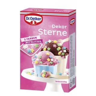 Dr. Oetker Dekor Sterne 60 g