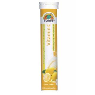 Sunlife vitamin c brusetabletter